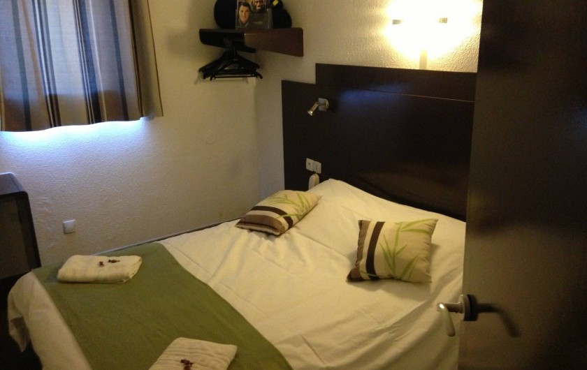 Location de vacances - Hôtel - Auberge à Villeneuve-lès-Béziers - Chambre double Standard 1 Lit double