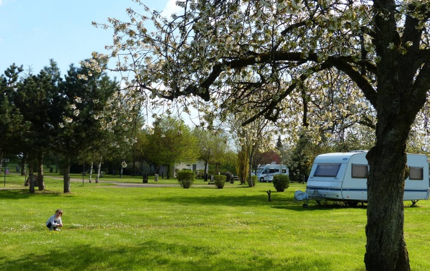 Location de vacances - Camping à Langres - emplacements camping