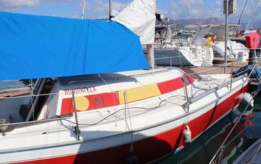 Location de vacances - Voilier à Ajaccio