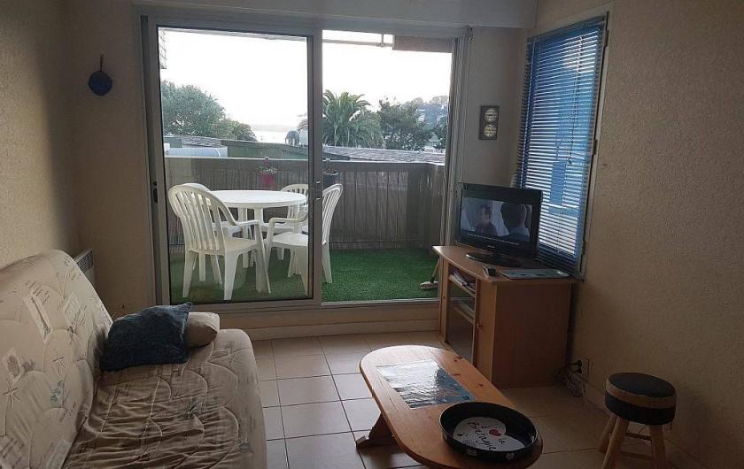 Location de vacances - Appartement à Perros-Guirec - coin salon