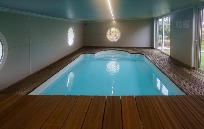 Location de vacances - Gîte à Guer - GRANDE CHAMBRE 4 PERSONNES.