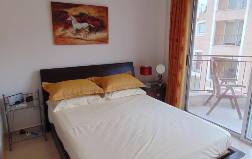 Location de vacances - Villa à Paphos - La deuzieme chambre à coucher