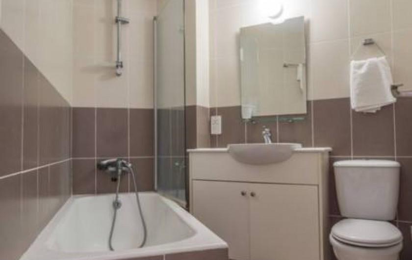 Location de vacances - Villa à Paphos - La salle de bain