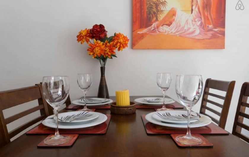 Location de vacances - Villa à Paphos - La table a manger