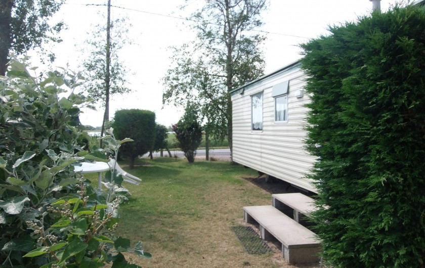 Location de vacances - Bungalow - Mobilhome à Oye-Plage - mobil-home 4 couchages