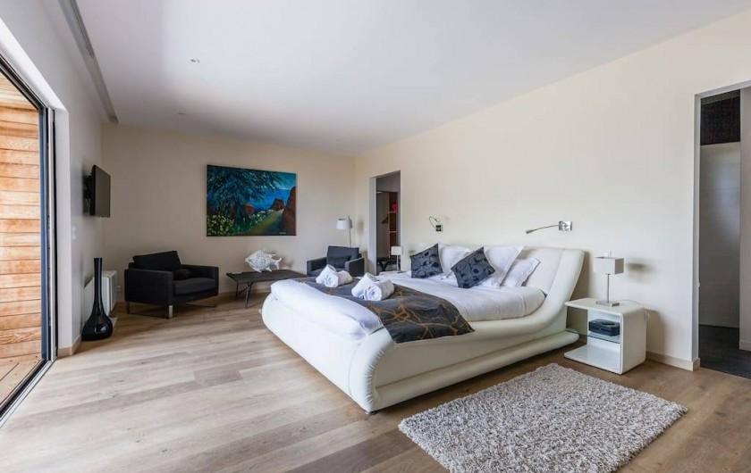 Location de vacances - Hôtel - Auberge à Porto-Vecchio - Suite Prestige Les Agaves ou Les Hibiscus avec Piscine privée et Chauffée