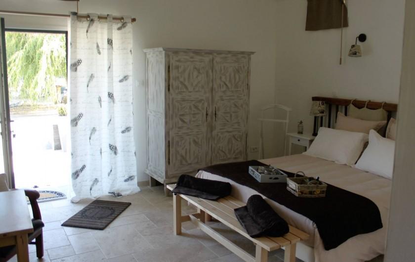 Location de vacances - Chambre d'hôtes à Saint-André-de-la-Marche - Chambre Oiseaux