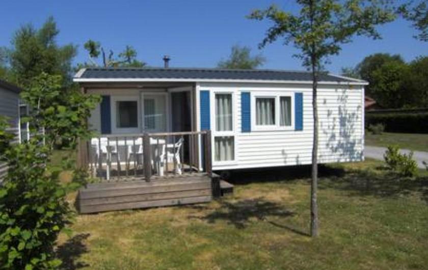 Location de vacances - Camping à Sainte-Eulalie-en-Born - mobil-home 2-4 personnes