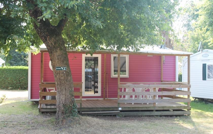 Location de vacances - Camping à Sainte-Eulalie-en-Born - mobil-home 4-6 personnes