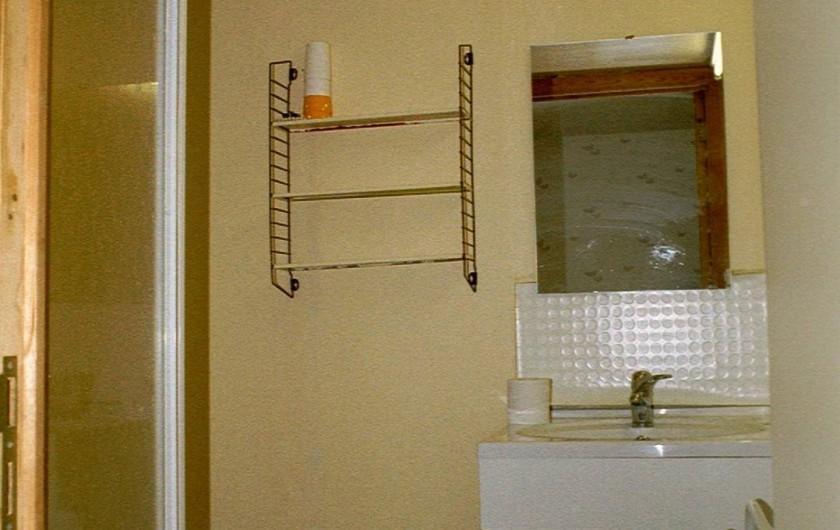 Location de vacances - Gîte à Libin - 2ème salle de bain