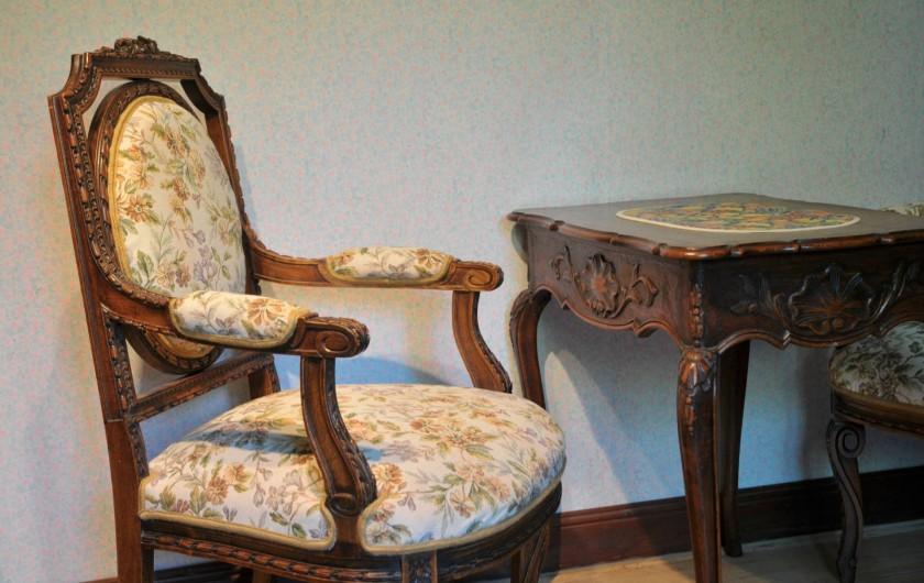 Location de vacances - Gîte à Libin - Chambre arrière 1ère