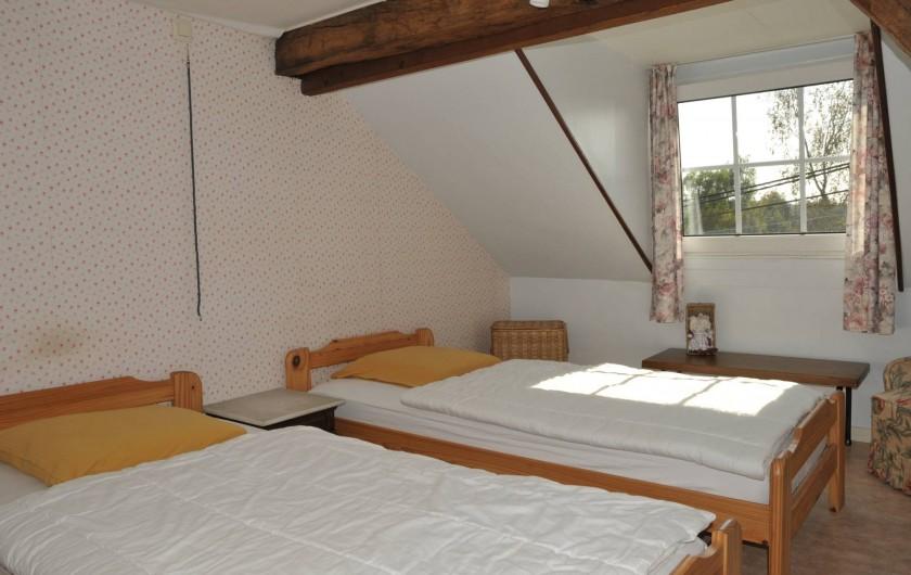 Location de vacances - Gîte à Libin - Chambre avant 3ème