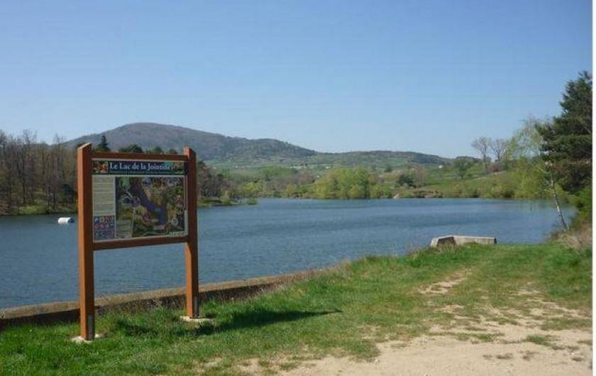 Location de vacances - Appartement à Étables - le lac de la jointine (réservé a la pêche)