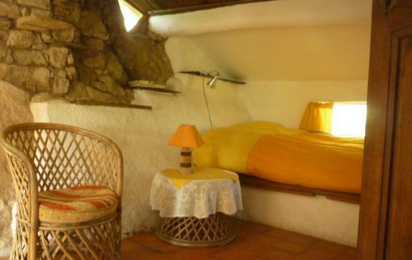 Location de vacances - Gîte à Saint-Privat - chambre double