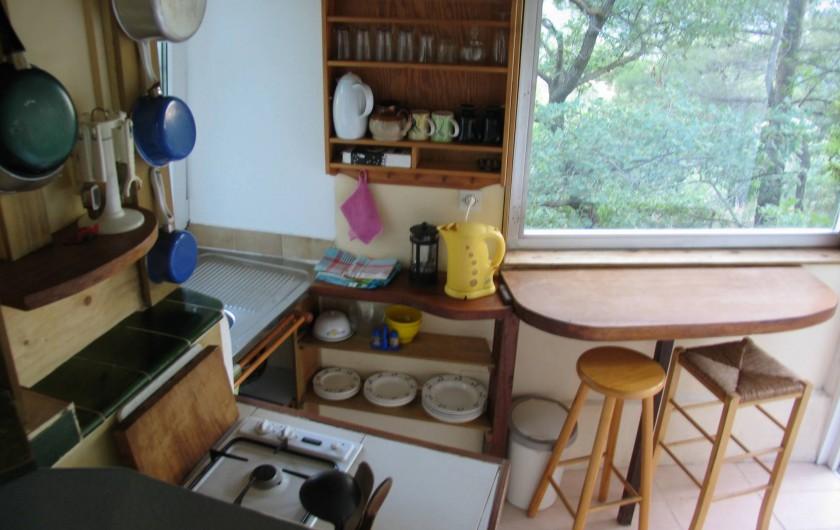Location de vacances - Gîte à Saint-Privat - cuisine