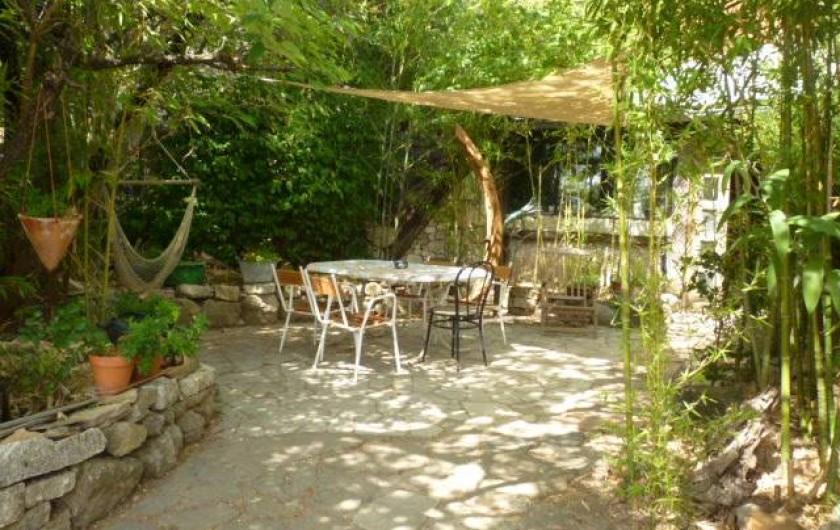 Location de vacances - Gîte à Saint-Privat - Coin WIFI