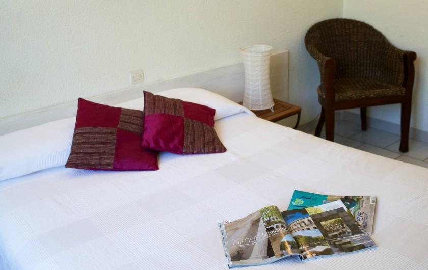 Location de vacances - Hôtel - Auberge à Saint-Jean-du-Gard - Chambre