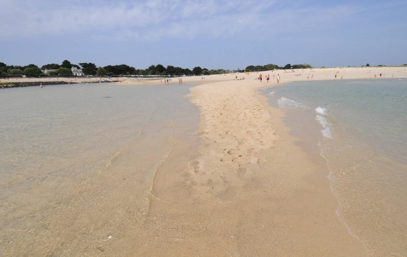 Location de vacances - Camping à Bénodet - banc de sable