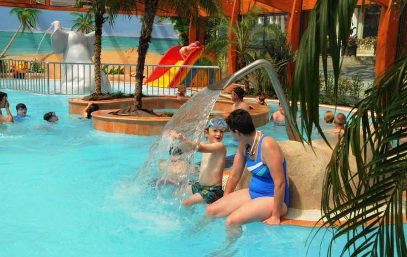 Location de vacances - Camping à Bénodet - Piscine couverte