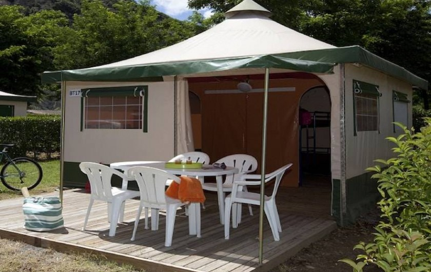 Location de vacances - Camping à Sampzon