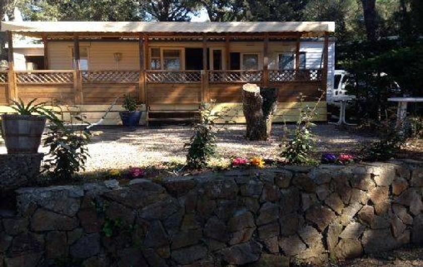 Location de vacances - Camping à Gassin
