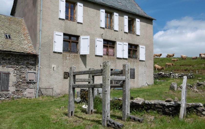 Location de vacances - Gîte à Saint-Chély-d'Aubrac - le gite des Bouals