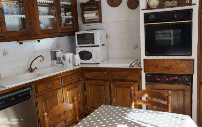 Location de vacances - Appartement à Vogüé