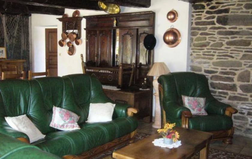 Location de vacances - Maison - Villa à Cléguérec - le salon