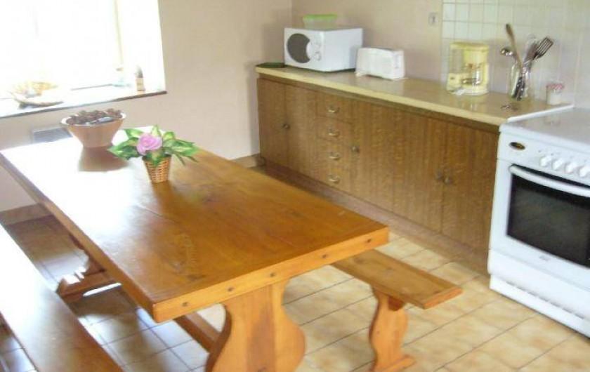Location de vacances - Maison - Villa à Cléguérec - la cuisine  indépendante
