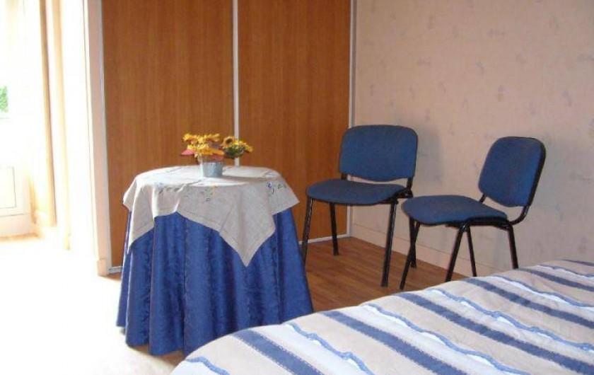 Location de vacances - Maison - Villa à Cléguérec - chambre lit double r de ch