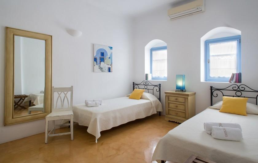 Location de vacances - Villa à Thera - chambre 3