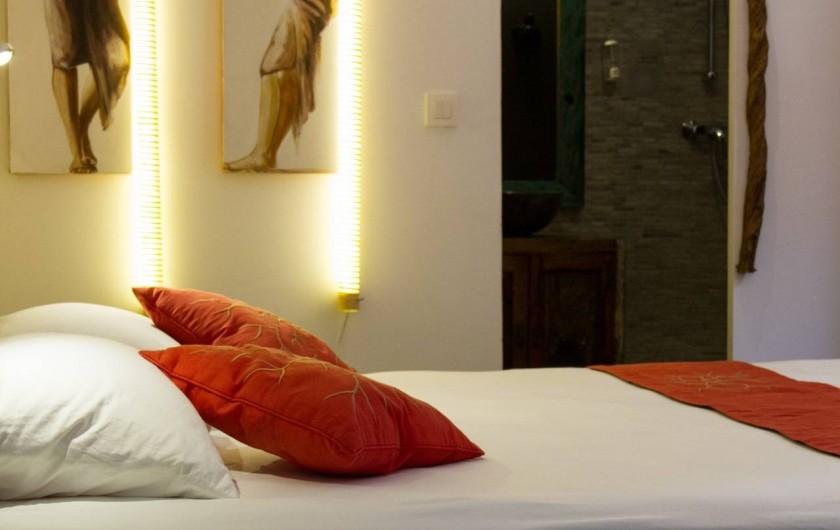 Location de vacances - Villa à Le Diamant - Chaque chambre à sa salle d'eau et toilette