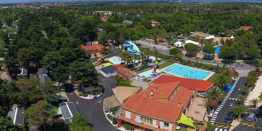 Location de vacances - Camping à Le Barcarès