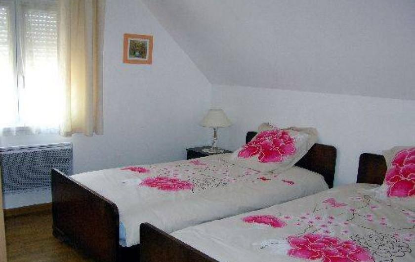 Location de vacances - Villa à Stotzheim - 2ème chambre étage