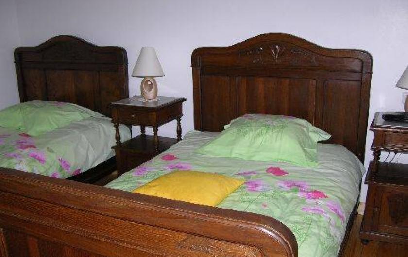 Location de vacances - Villa à Stotzheim - chambre rdc