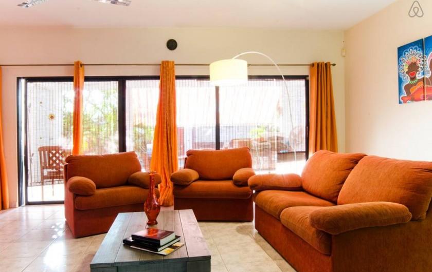 Location de vacances - Bungalow - Mobilhome à Santa Catharina - the salon