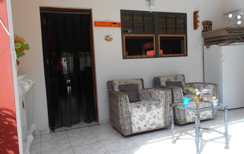 Location de vacances - Bungalow - Mobilhome à Santa Catharina - front terras pool sight