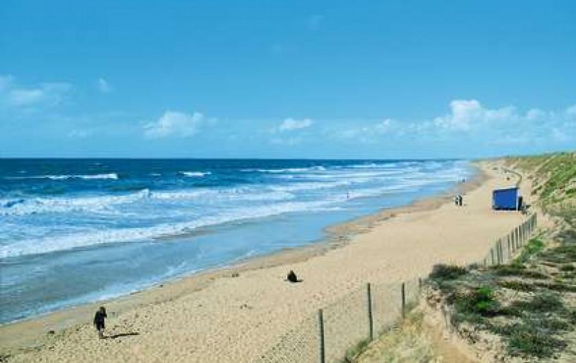 Location de vacances - Gîte à Brem-sur-Mer - plage Olonne