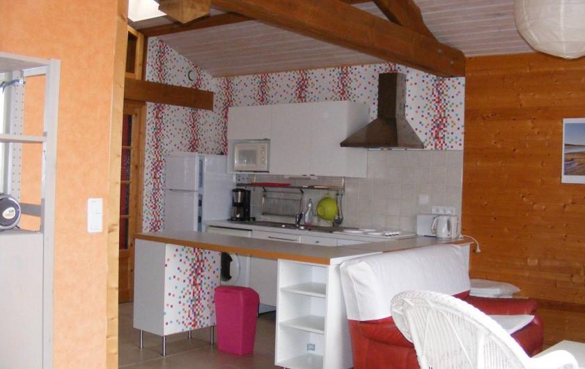 Location de vacances - Gîte à Brem-sur-Mer - cuisine