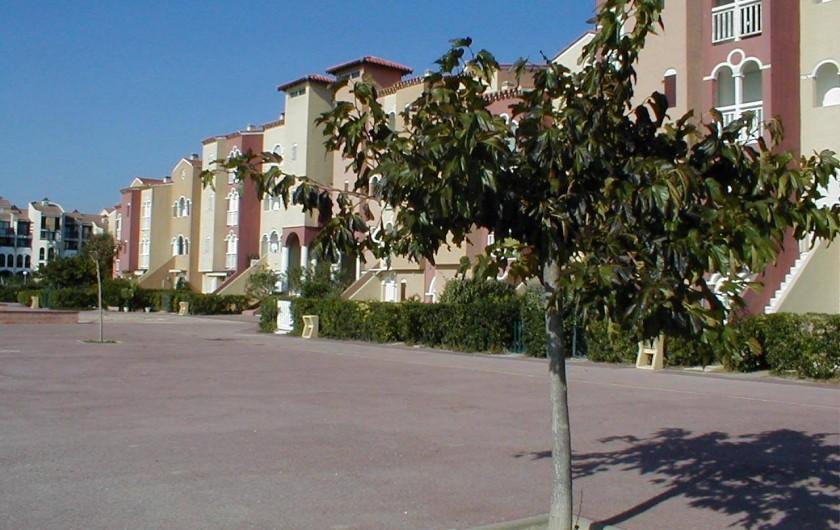 Location de vacances - Appartement à Le Barcarès - la résidence