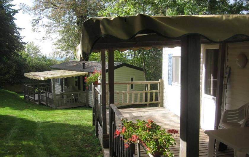 Location de vacances - Camping à Argences-en-Aubrac - MOBIL HOMES
