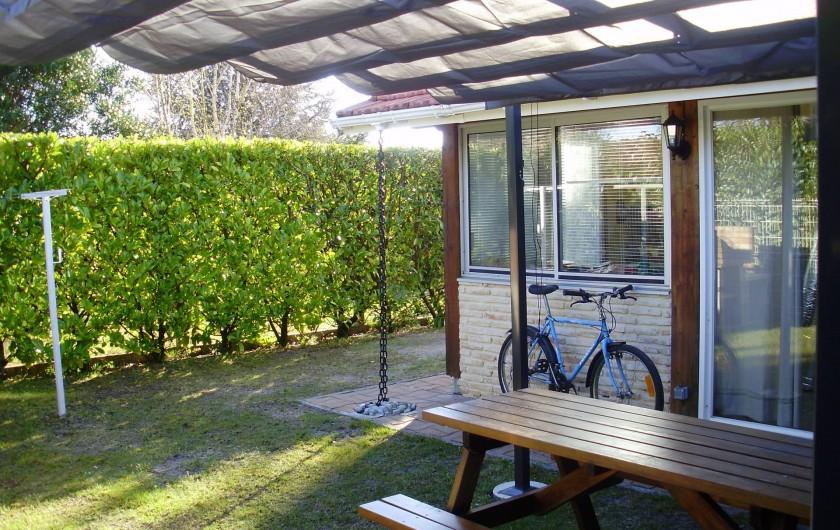 Location de vacances - Maison - Villa à Biscarrosse - jardin
