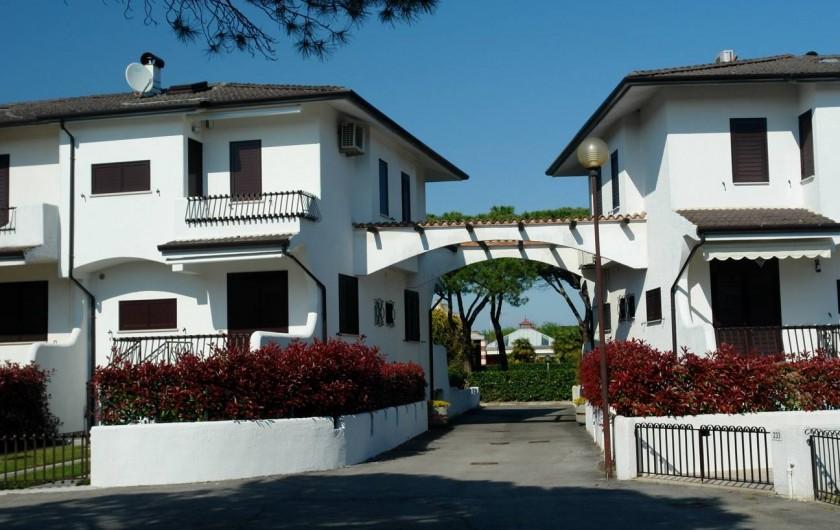 Location de vacances - Maison - Villa à Duna Verde - Chemin pour aller à la piscine