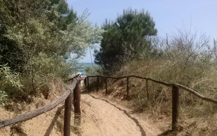 Location de vacances - Maison - Villa à Duna Verde - Chemin pour aller à la plage gratuite