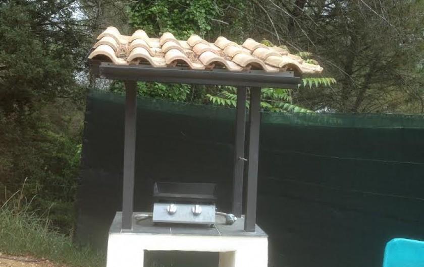Location de vacances - Gîte à Bagnols-sur-Cèze - plancha