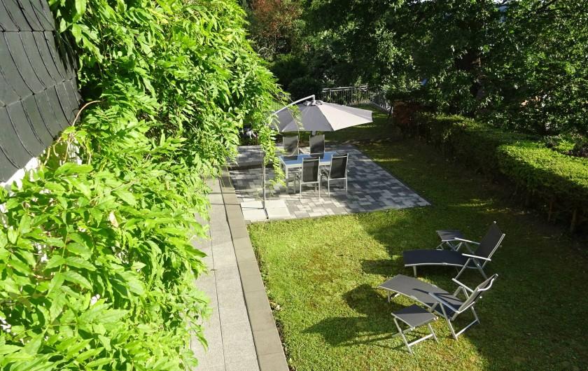 Location de vacances - Appartement à Linz am Rhein - Jardin pour se relaxer