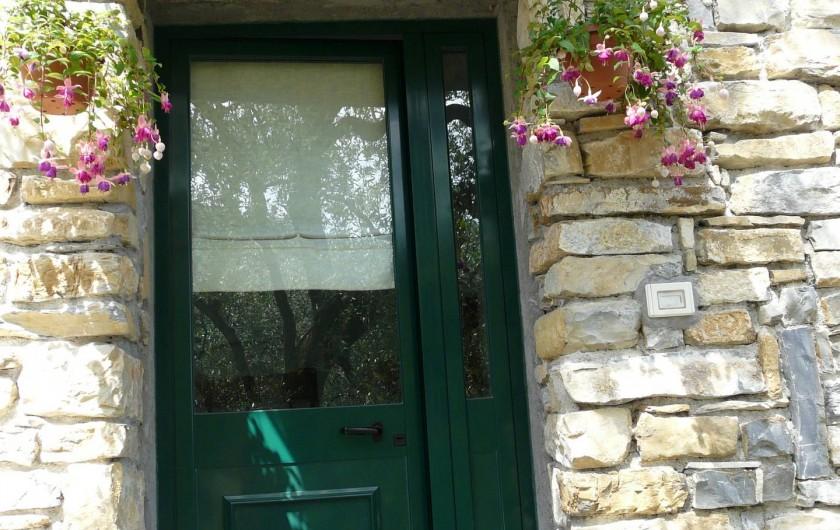 Location de vacances - Gîte à Villa Faraldi - entrée Luciana 2