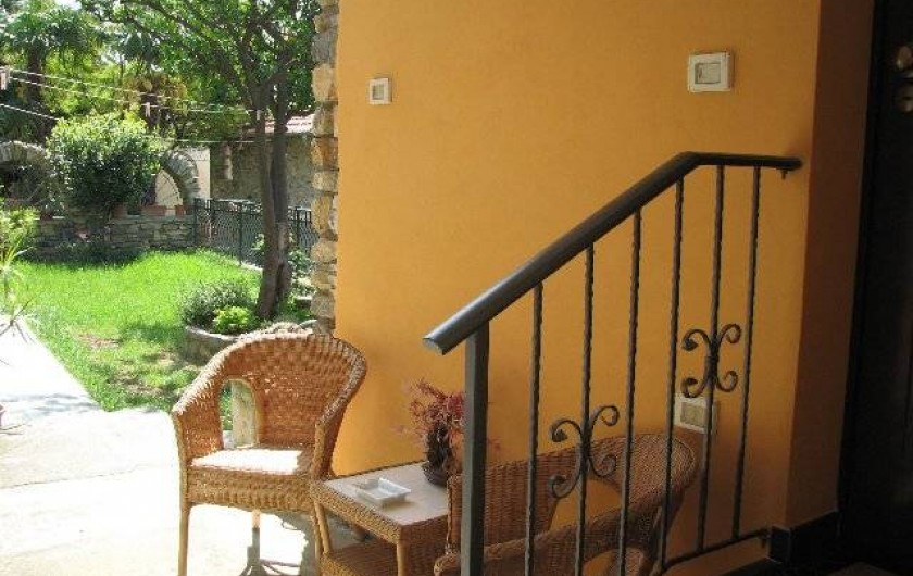 Location de vacances - Gîte à Villa Faraldi - entrée Luciana 3