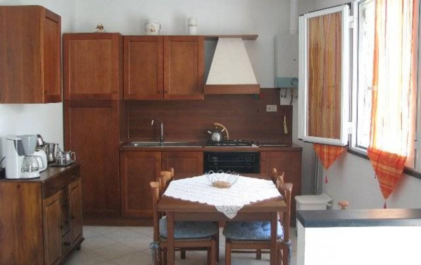 Location de vacances - Gîte à Villa Faraldi - cuisine Luciana 2