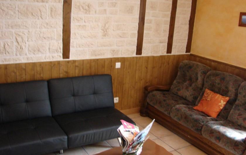 Location de vacances - Gîte à Cublac - salon